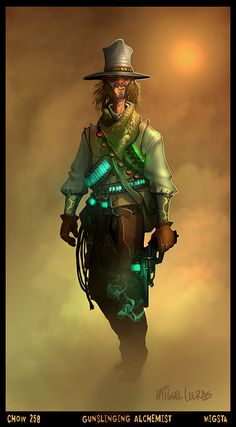 Character Concepts Types Foci Weird West